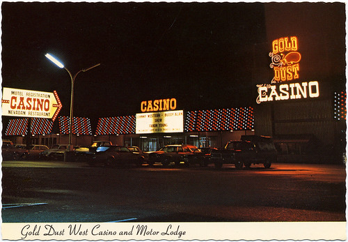 Gold Dust West Casino, 1976 | by Roadsidepictures