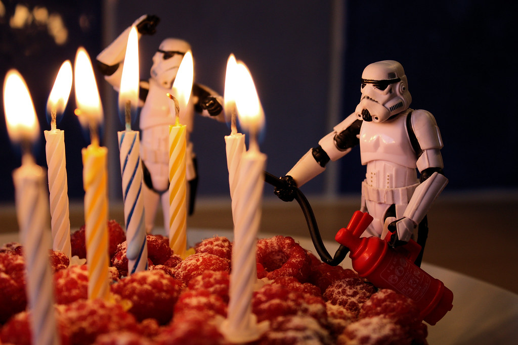 Star Wars Birthday Cake Decorations