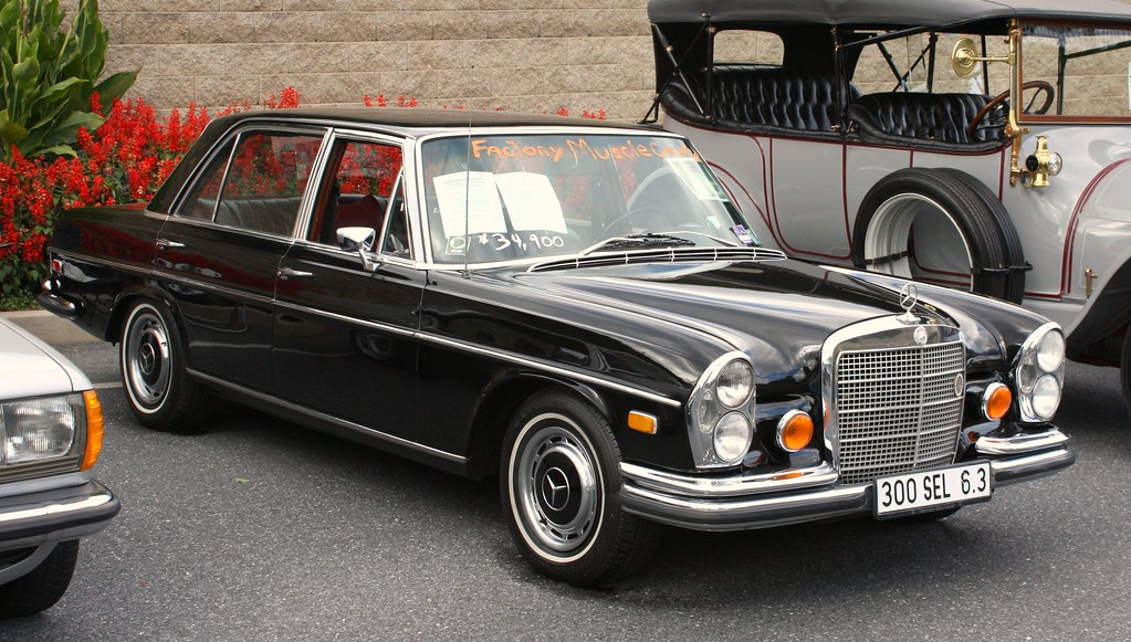 De E B on Mercedes Benz 300sel 6 3