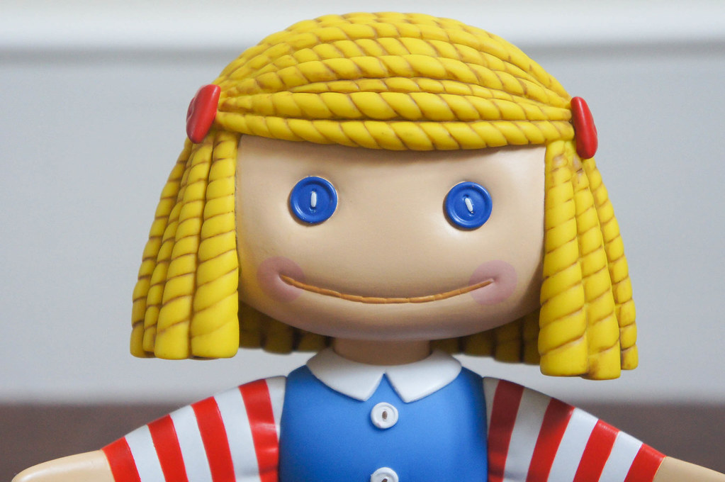 Janie Doll Medicom Toy From Toy Story Vinyl Collectible Flickr