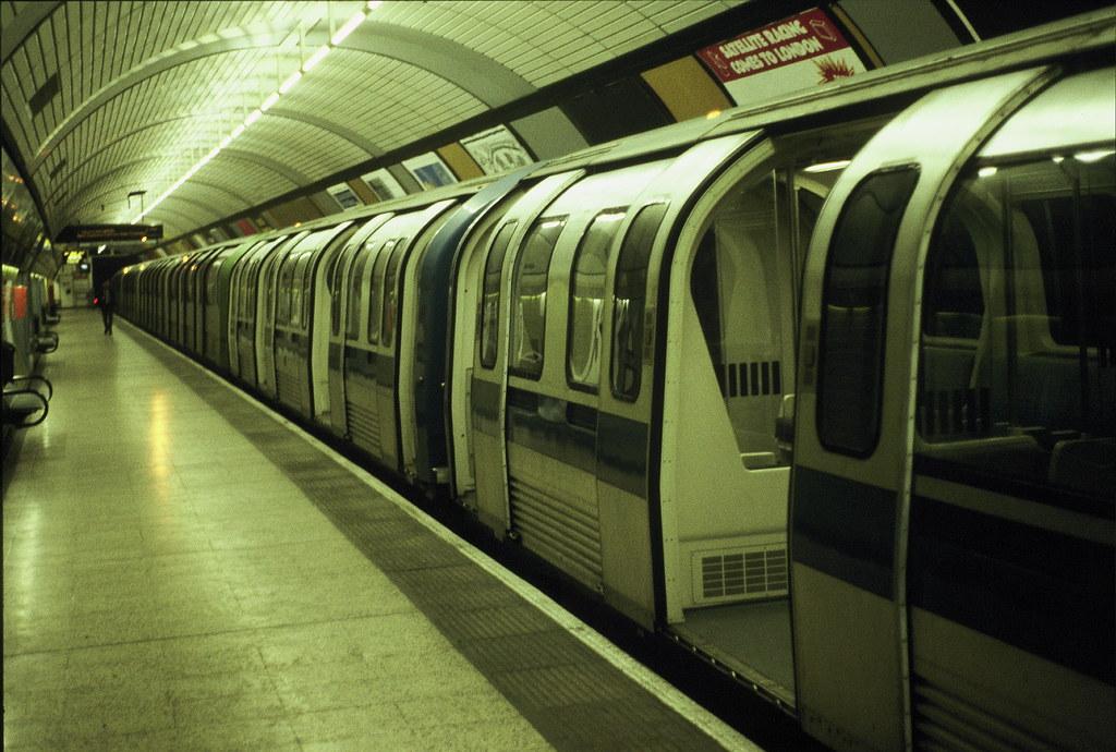 1986 Tube Stock At Charing Cross Exterior Of 1986 Tube