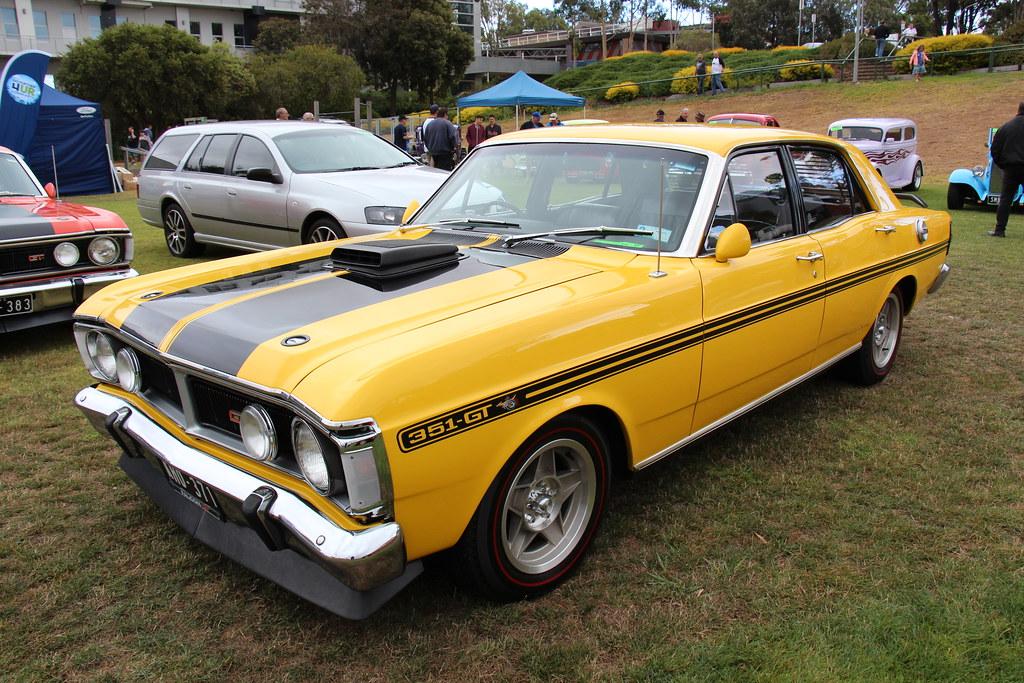1972 Ford Falcon Xy Gtho Sedan Yellow Glow The Xy