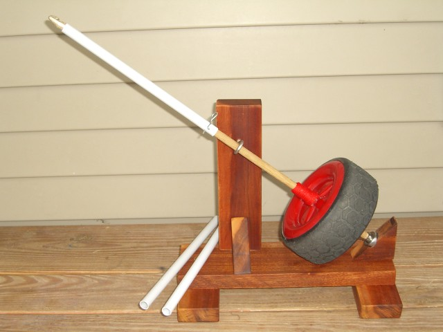 how to make a spinning wheel out of wood