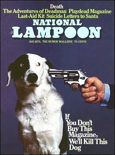 If You Don't Buy This Magazine, We'll Kill This Dog | by Scott Monty