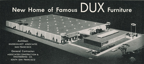 DUX Furniture Headquarters Burlingame 1960 | by hmdavid
