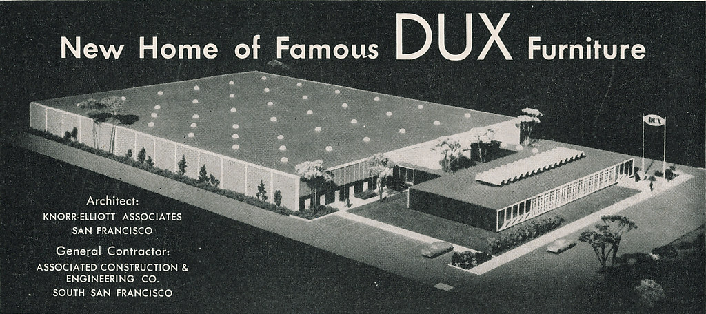 ... DUX Furniture Headquarters Burlingame 1960 | By Hmdavid
