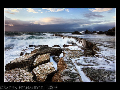 Forresters beach 'Slab Face' | by sachman75