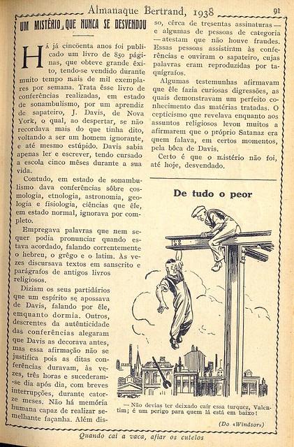Almanaque Bertrand, 1938 - 9