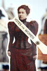 Great American Suffragette Folk Art Doll Isabella | by Lenae May