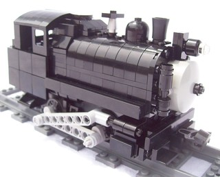 Lego Power Functions Vulcan Iron Works 0-4-0T | by Jayhurst