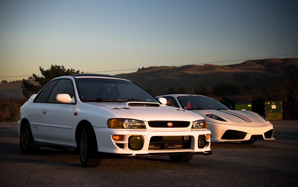 Subaru 25rs ferrari 430 scuderia a friends subaru 25 flickr subaru 25rs ferrari 430 scuderia by erdero freerunsca Choice Image