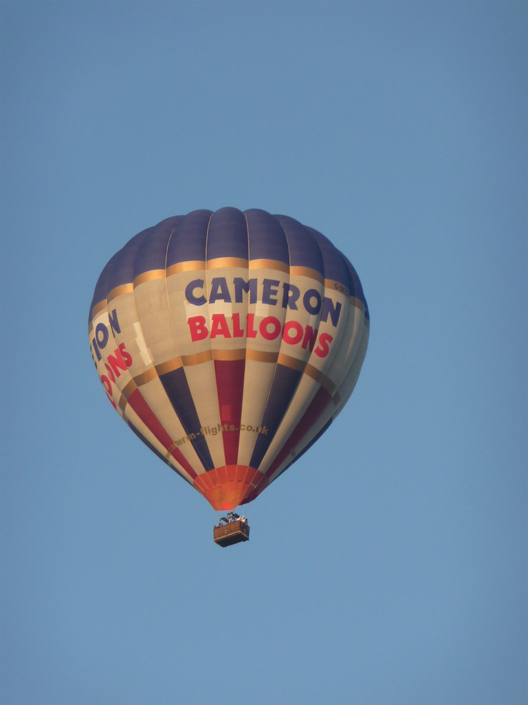 Up in the sky 015 | A short quote from Cameron Balloon ...