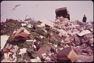 Dumping Garbage in Landfill Operation on Jamaica Bay Increased Water Pollution as Well as Serious Ecological Damage Is Feared 05/1973 | by The U.S. National Archives
