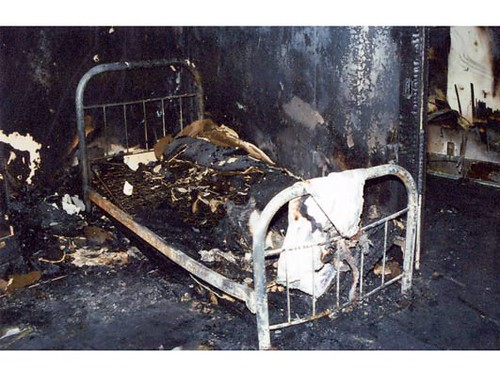 Burned Bed In Todd Willingham's House