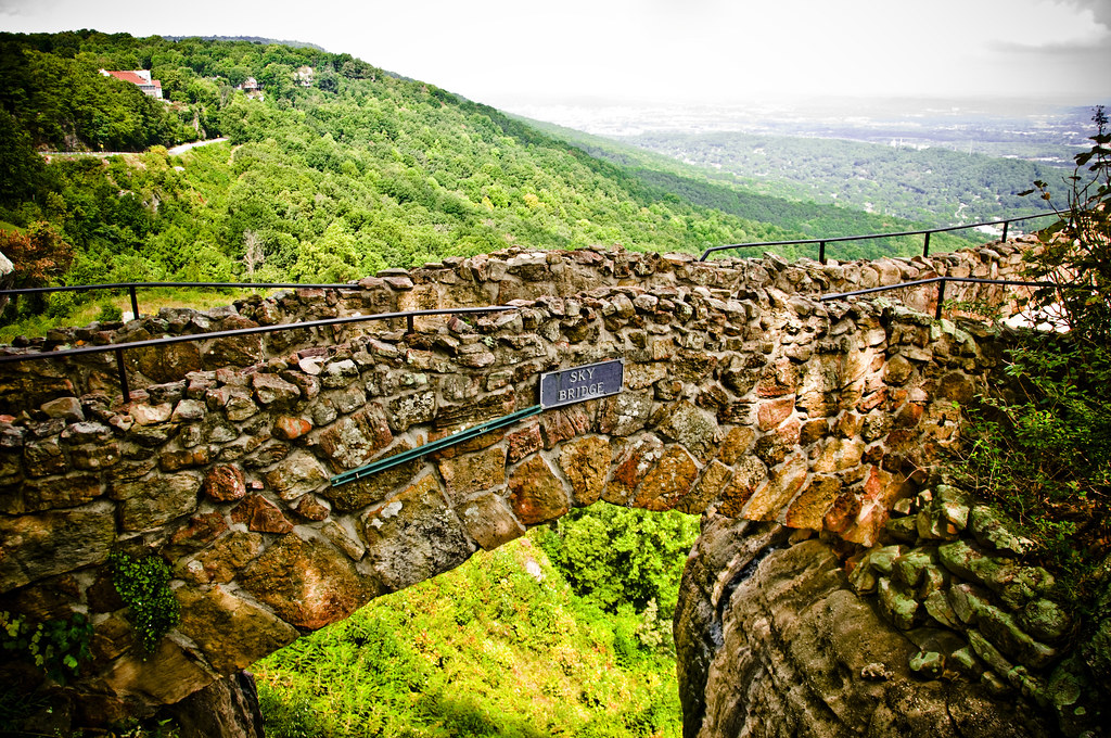 Sky Bridge Rock City Chattanooga Tn Vivamex Flickr