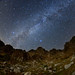 Japan Alps of autumu galaxy