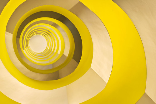 journey up a spiral staircase | by ati sun