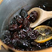 poached prunes
