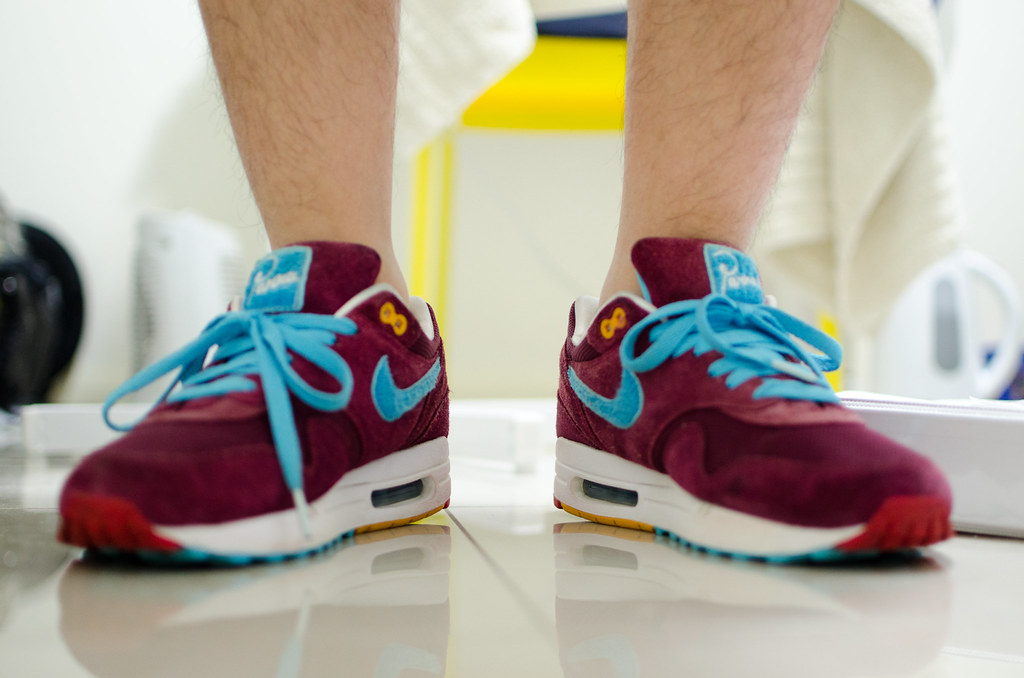 factory authentic 79dd7 17eed ... where to buy nike air max 1 parra x patta burgundy tier zero by adrian  ong