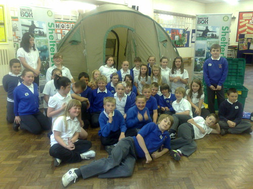 ShelterBox at Keresforth Primary School Dodworth Barnsley 16 May 2011 | by woodytyke