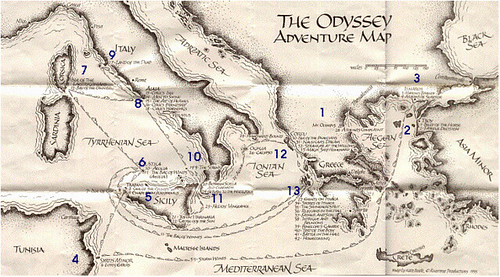 Odyssey Adventure Map | Source: www.nadasisland.com/odyssey/… | Flickr