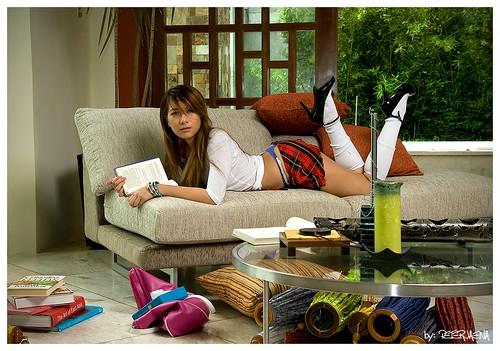 Sexy Schoolgirl 2  Peter Jaena  Flickr-9938