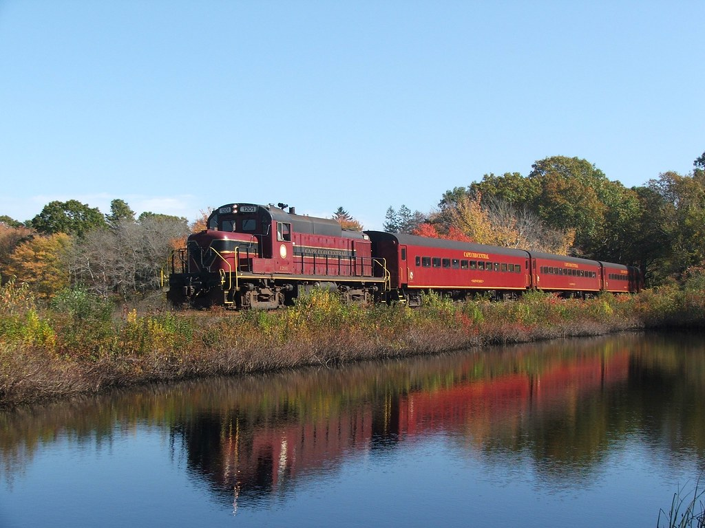 cape cod scenic railroad