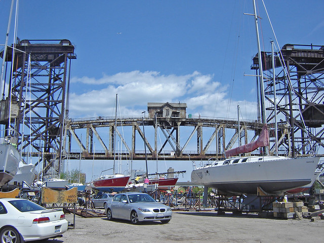 Old Moving Bridge Amp Boat Yard South Branch Of The