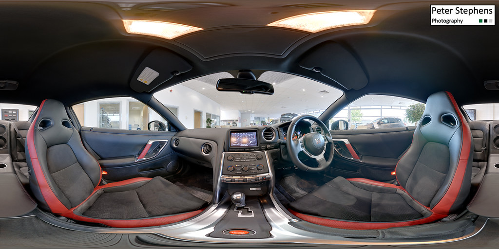 nissan gtr equirectangular panorama of the interior of a n flickr. Black Bedroom Furniture Sets. Home Design Ideas