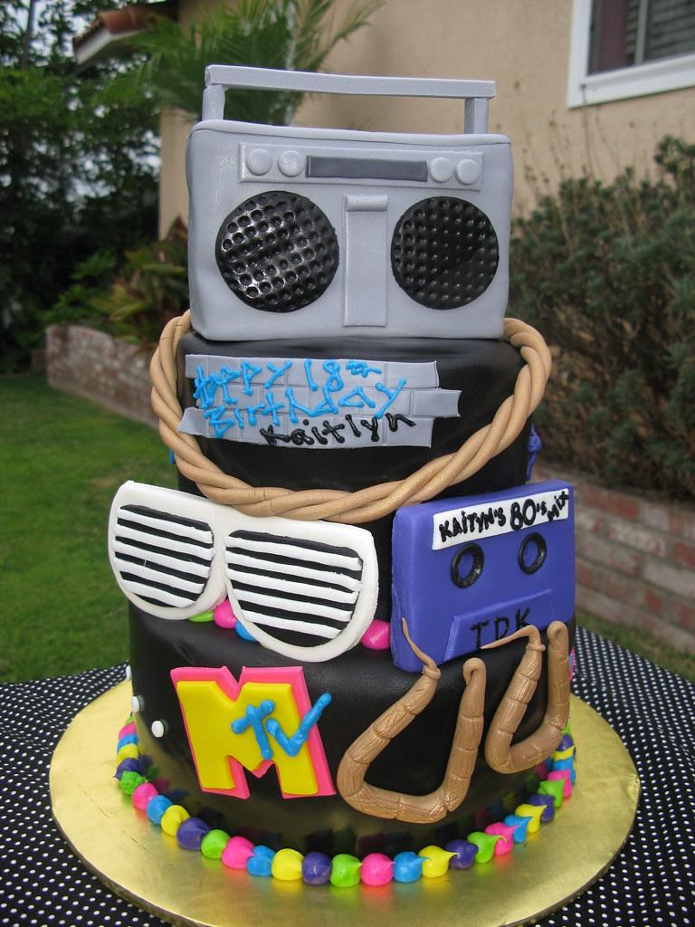 Dance Birthday Cake Decorations