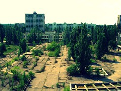 Abandoned building in Pripyat' / Chernobyl | by Danny--Boy