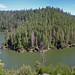 Panorama of Blue Ridge Reservoir snaking around
