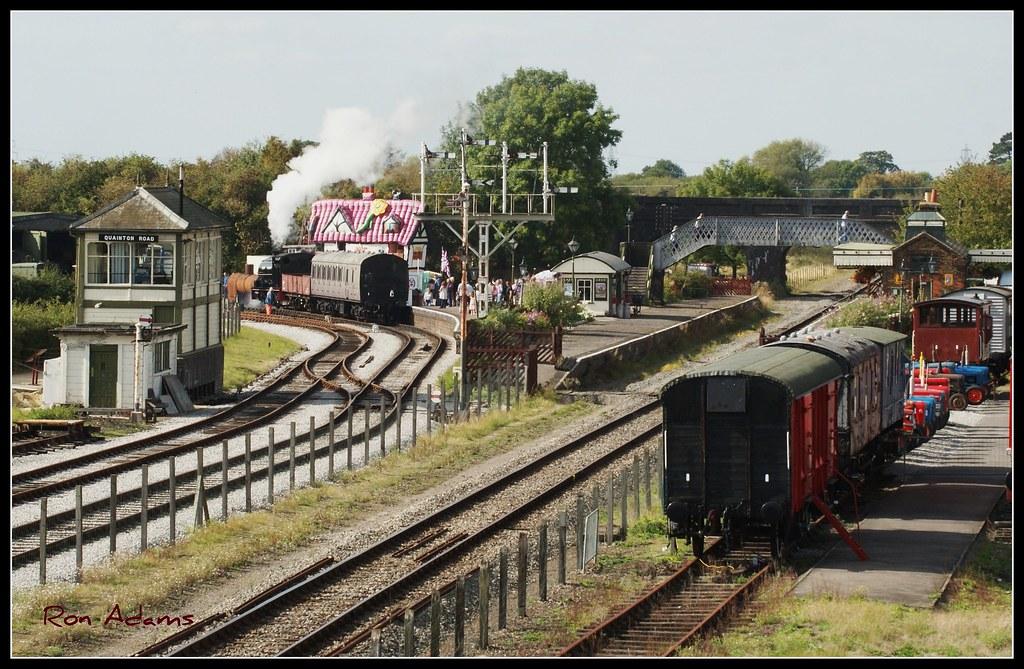 Quainton Road station.   Buckinghamshire Railway Centre on ...