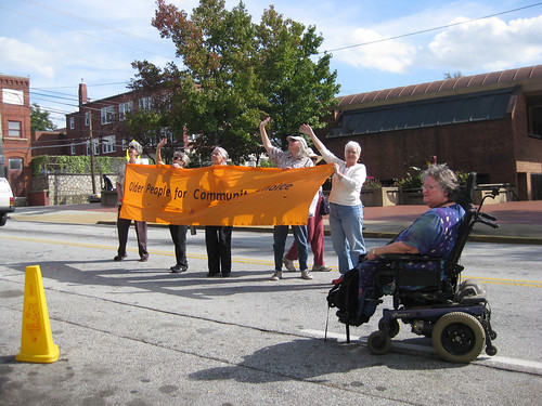 ADAPT rally and march in Atlanta, Sunday | by Liz Henry
