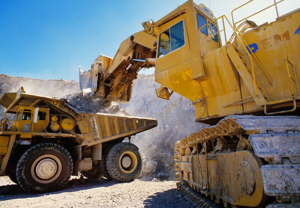 Large Earth Moving Heavy Equipment This Is Big To
