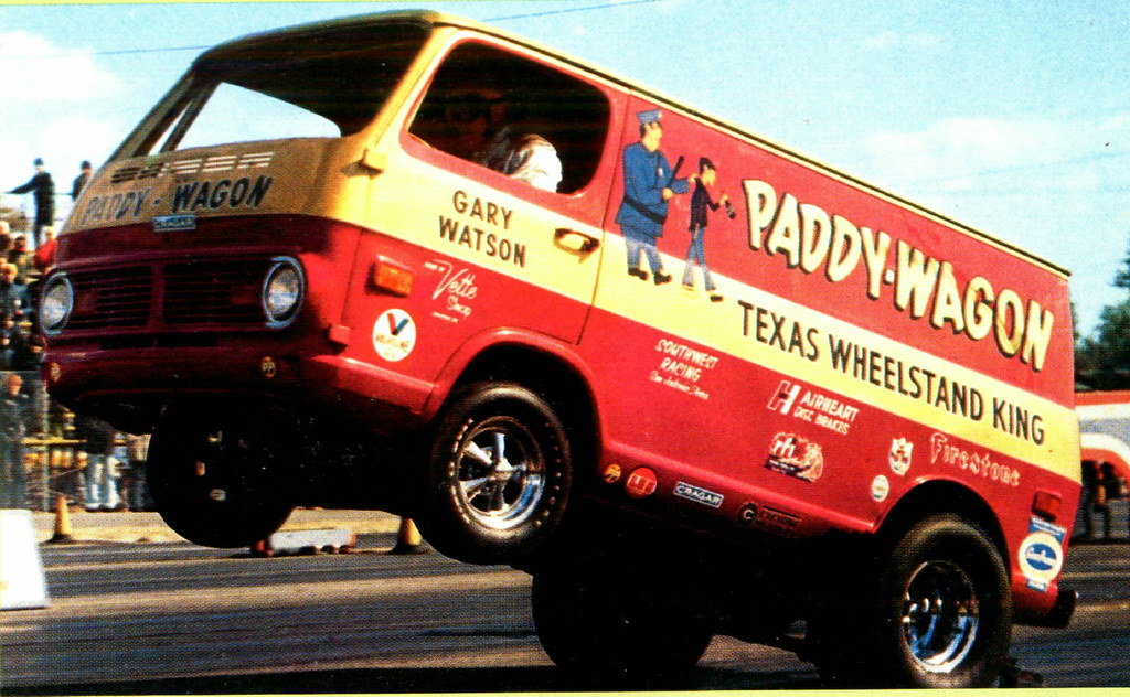 Chevy Van Paddy Wagon Wheel Stander David Rider Flickr