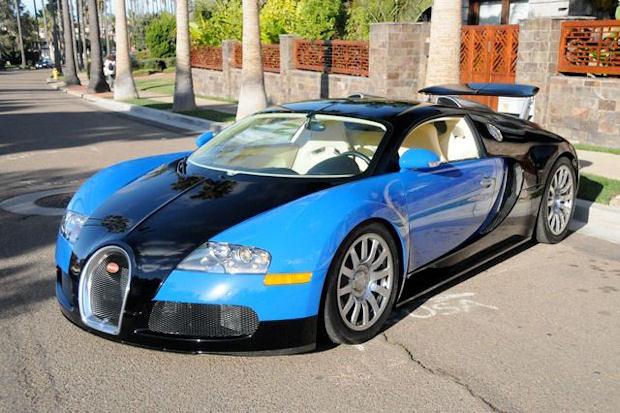 2006 Bugatti Veyron Blue Black Priv 233 Access Flickr
