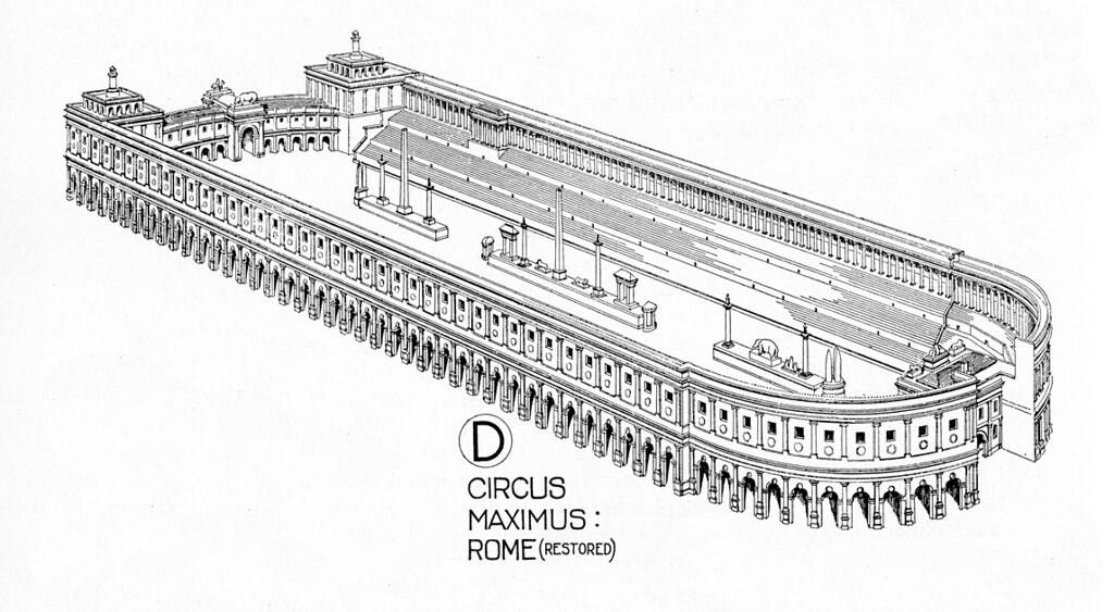us reconstruction coloring pages | Circus Maximus: reconstruction rendering | Title: Circus ...