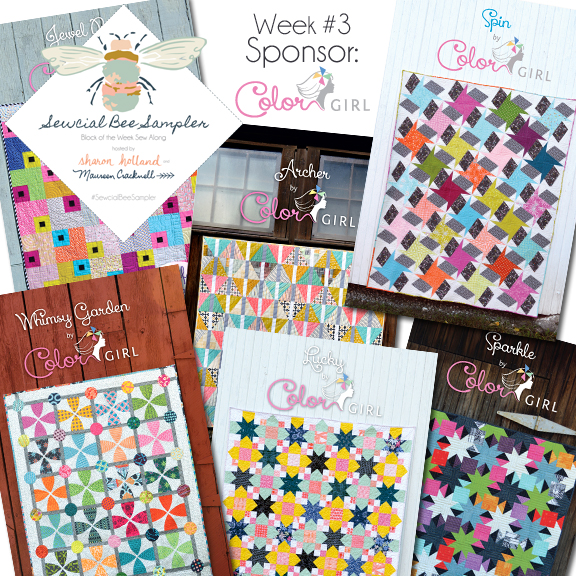 Color Girl Quilts Pattern Giveaway!