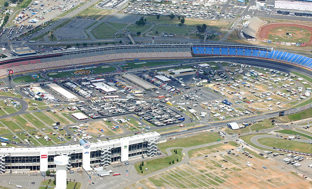 Charlotte aerial photography lowes motor speedway visit for Map of charlotte motor speedway