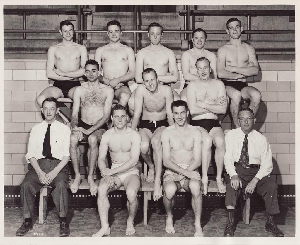 Vintage Swim Team 25