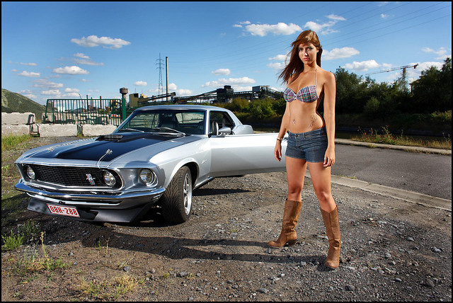 The Beauty And The Beast 17 Mustang 1969 Coupe Photo