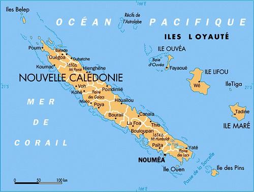 New Caledonias Islands