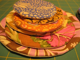 Stack of fabric stickers | by Poppyprint