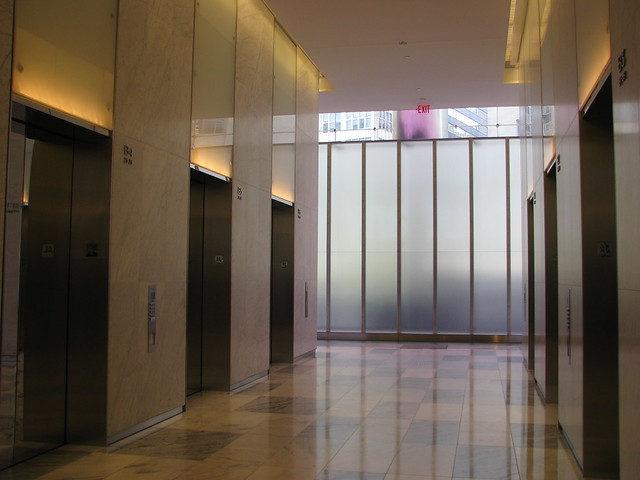 Elevator Lobby 7 World Trade Center Flickr Photo Sharing