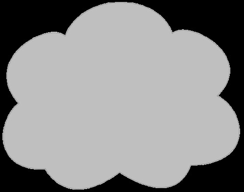 grey cloud clipart sketch lge 14 cm op this clipart