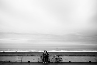 Bikers by the Ocean | by Chemophilic