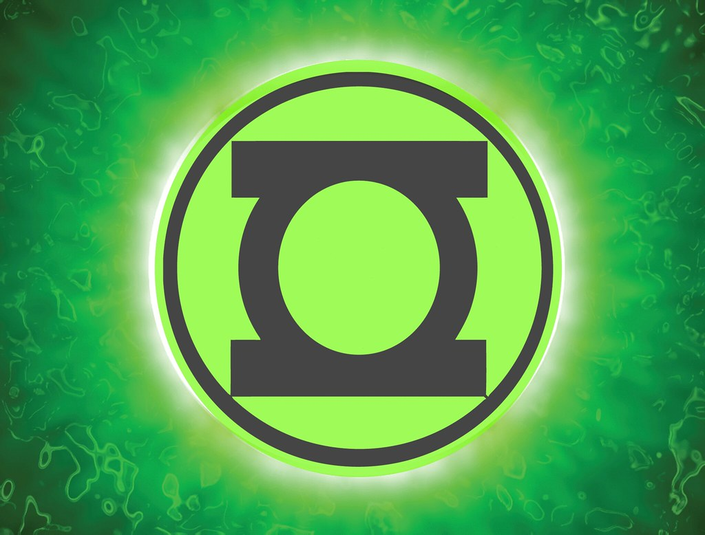 Logo Linterna Verde Tributo A Linterna Verde Esta