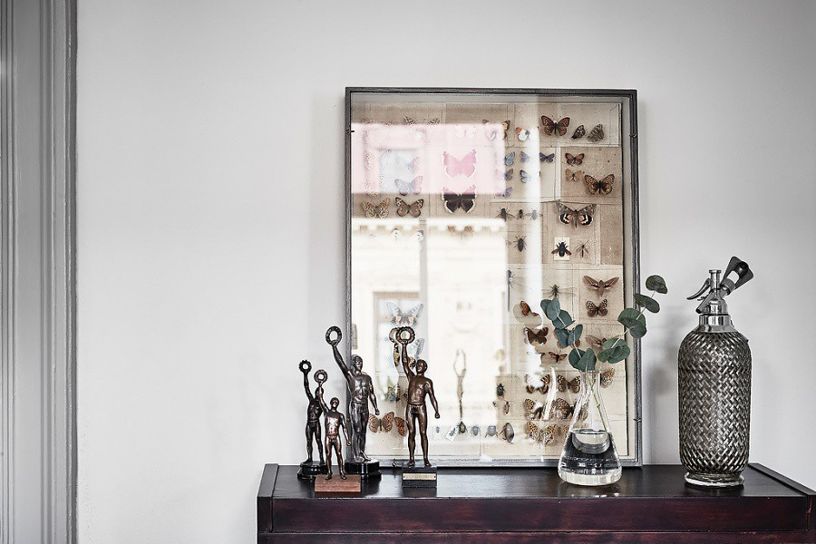 Scandinavain Home Meets Modern Glam