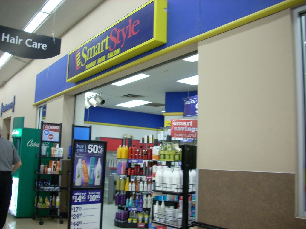 walmart hair salon prices smart styles smartstyle a smartstyle hair salon at a wal mart 2639